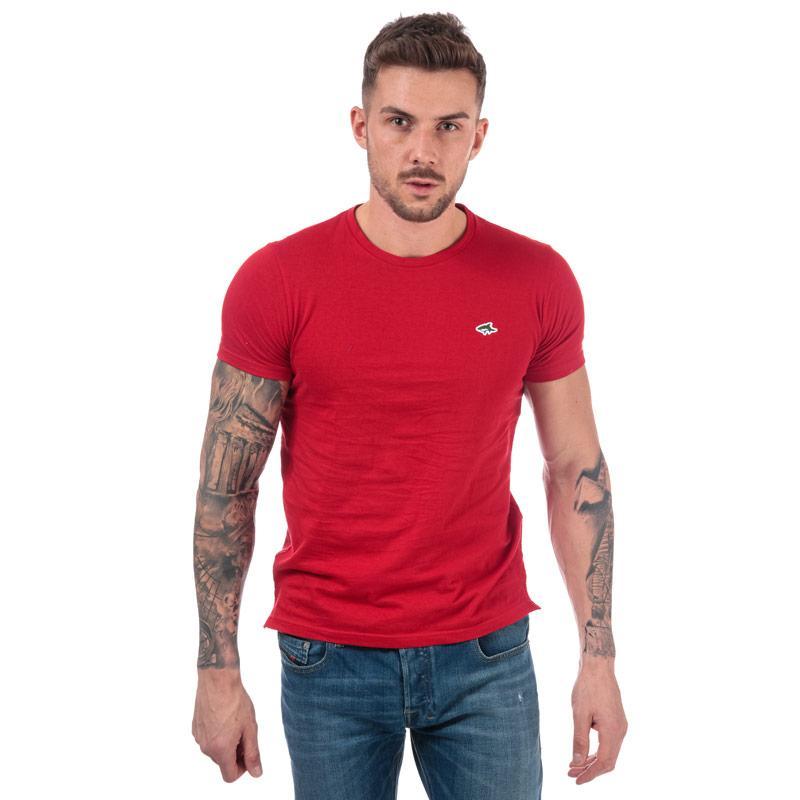 Tričko Le Shark Mens Avenue Crew T-Shirt Red