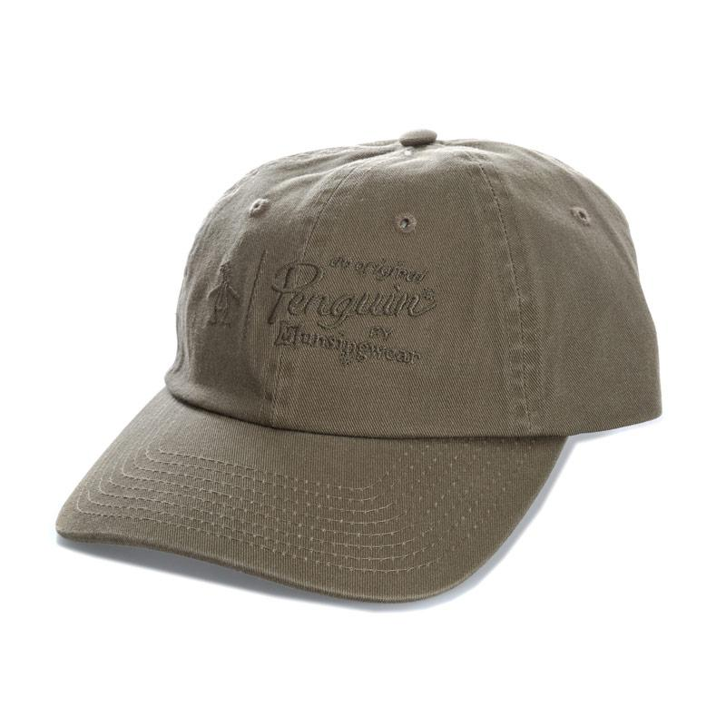 Original Penguin Mens Crabtree Baseball Cap Khaki