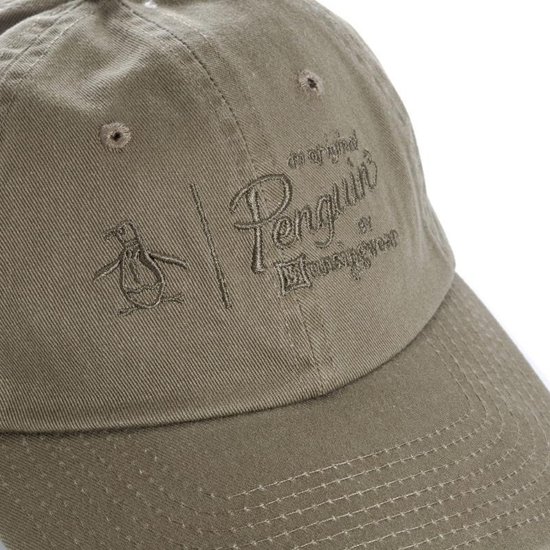 Original Penguin Mens Crabtree Baseball Cap Khaki