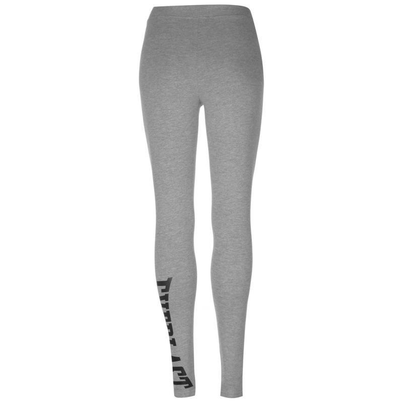 Everlast Leggings Ladies Grey Marl