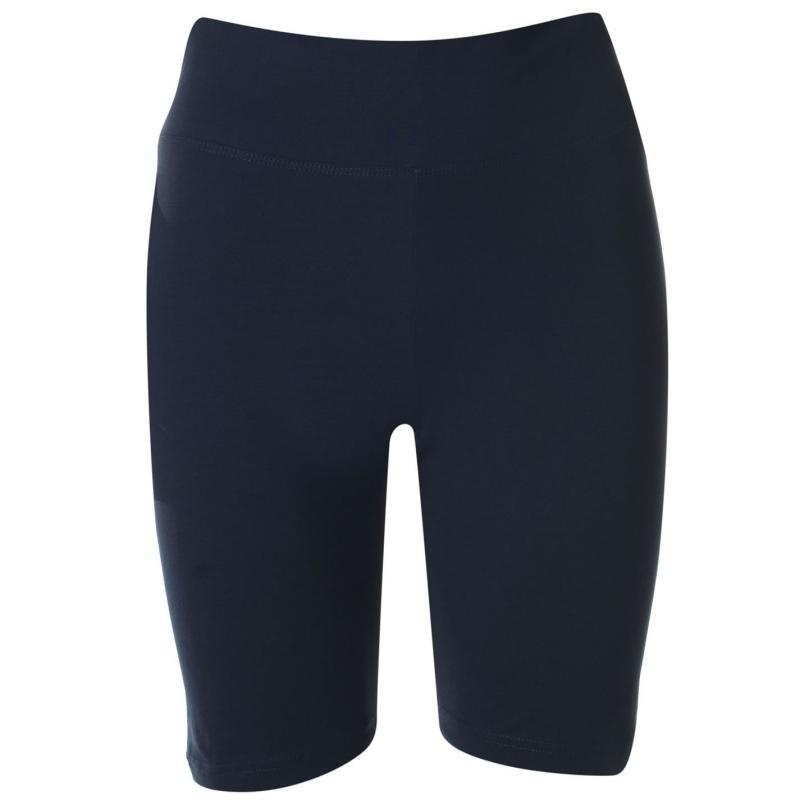 Miso High Waisted Cycling Shorts Ladies Navy