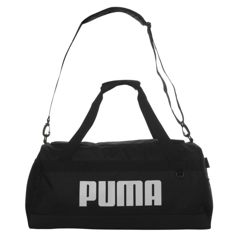 Puma Challenger Logo Holdall Black/White