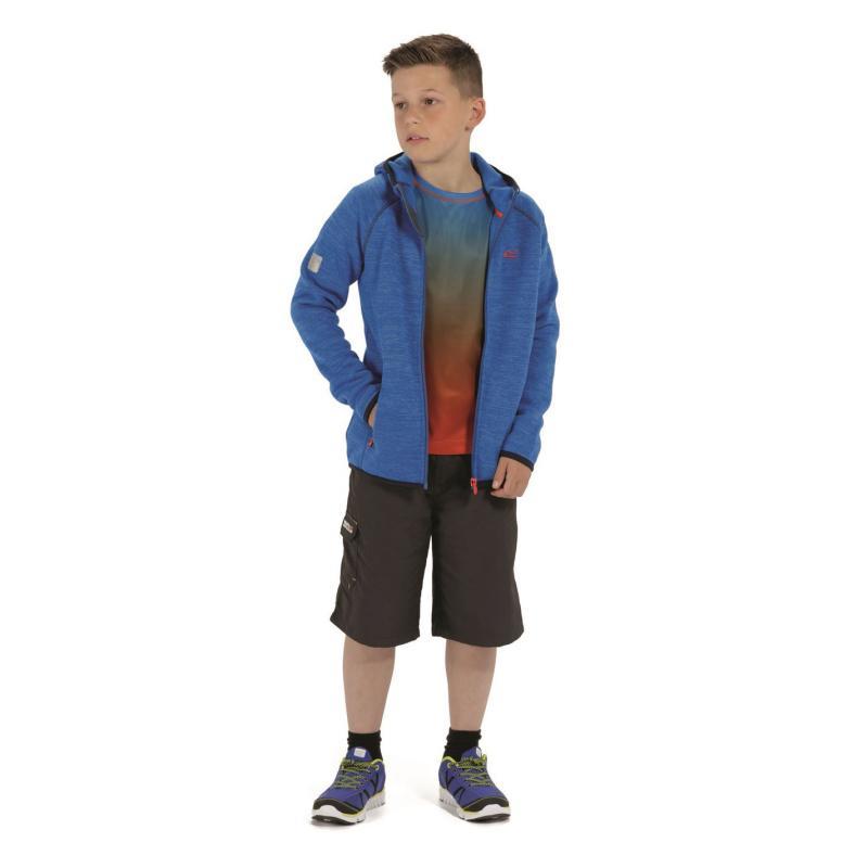 Mikina Regatta Dissolver Fleece Junior Boys Oxford Blue