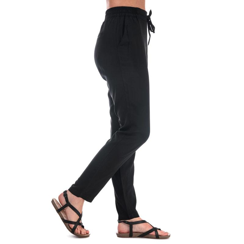 Kalhoty Vero Moda Womens Simply Easy Loose Fit Trousers Black