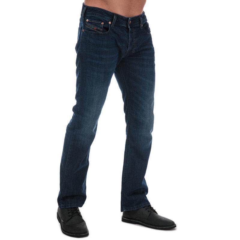 Diesel Mens Zatiny Bootcut Jeans Denim