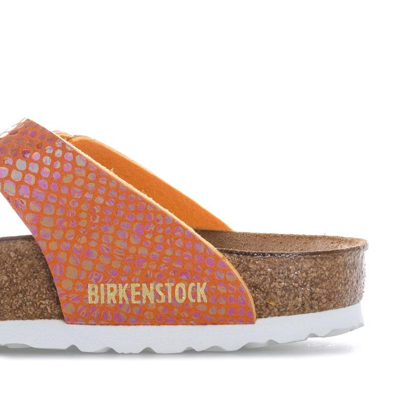 Boty Birkenstock Womens Gizeh Sandals Narrow Width Orange