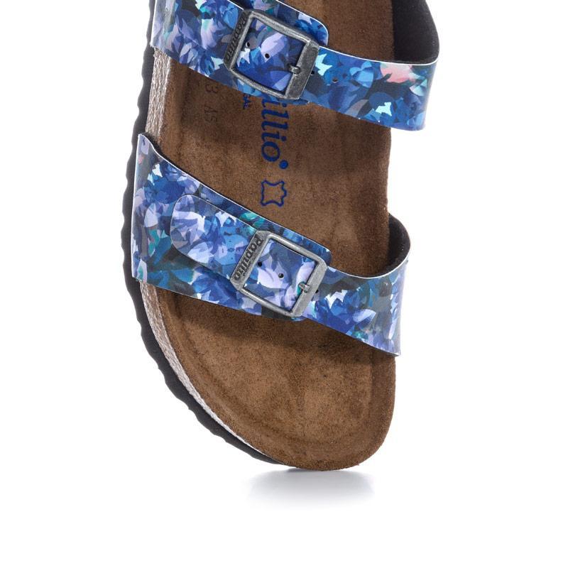Boty Papillio Womens Sydney Soft Footbed Sandals Narrow Width Blue