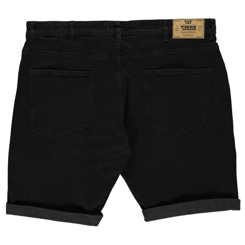 D555 Jude Denim Shorts Mens Black