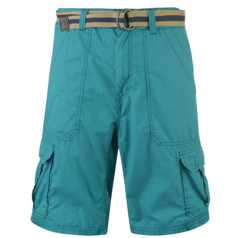 ONeill Beach Break Belted Shorts Mens Veridian Green