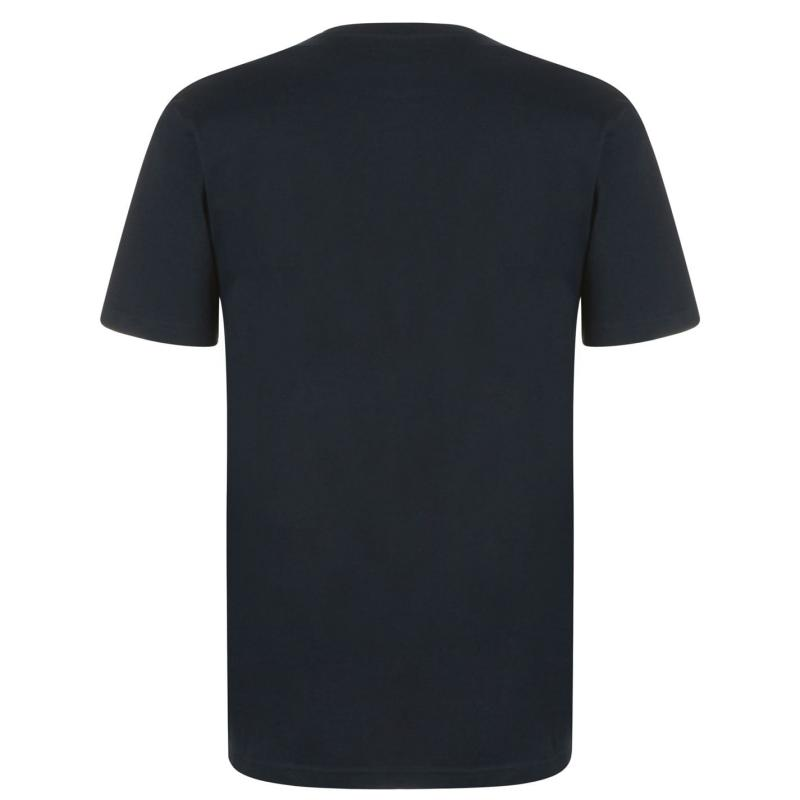 Tričko Quiksilver Firell T Shirt Mens Navy Blazer