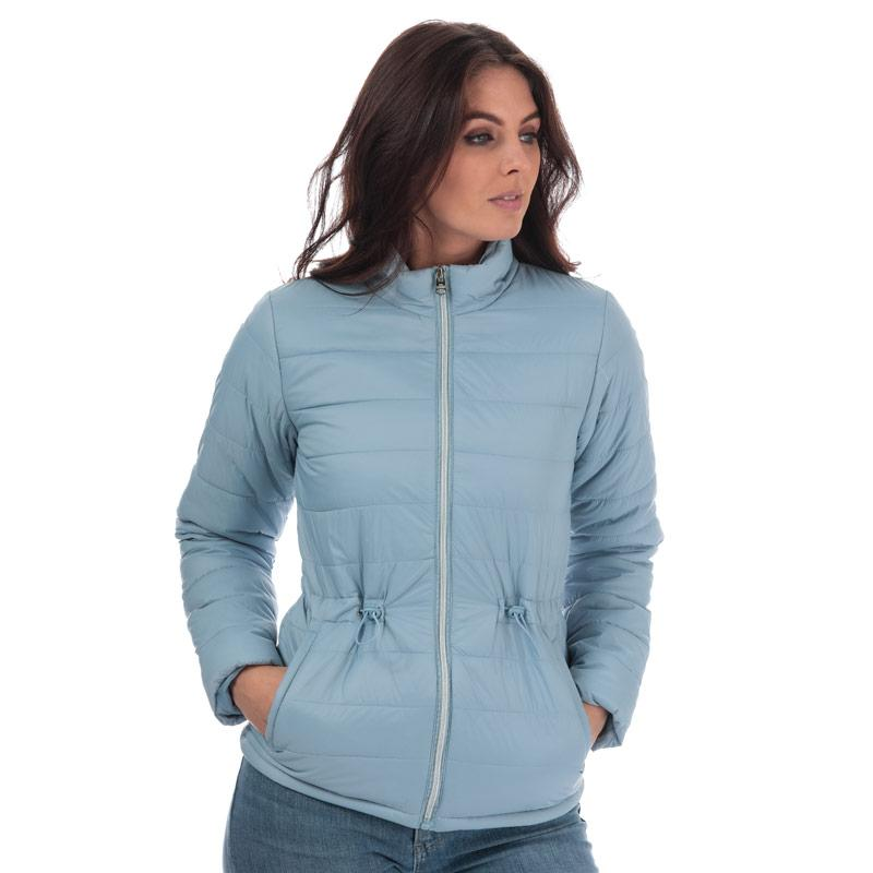 Tokyo Laundry Womens Syros Light Packaway Jacket Blue