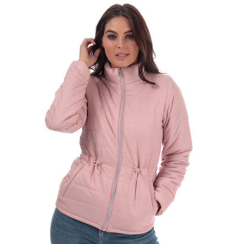 Tokyo Laundry Womens Syros Light Packaway Jacket Dusky Pink