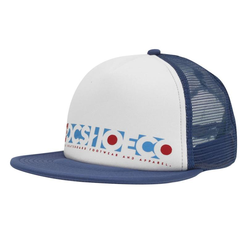DC Stoxel Mens Cap Blue/White