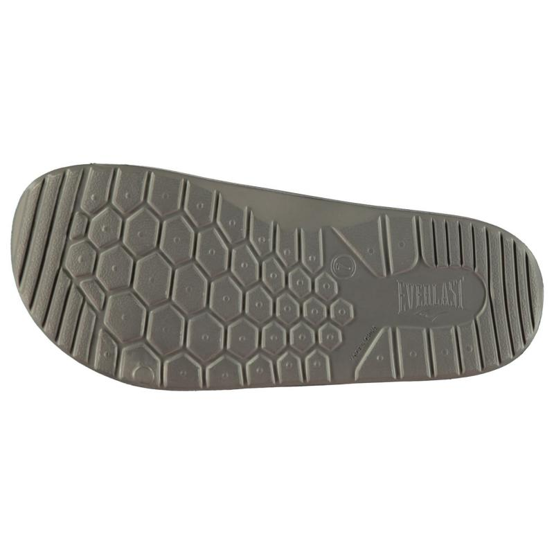 Everlast Mens Sliders Charcoal