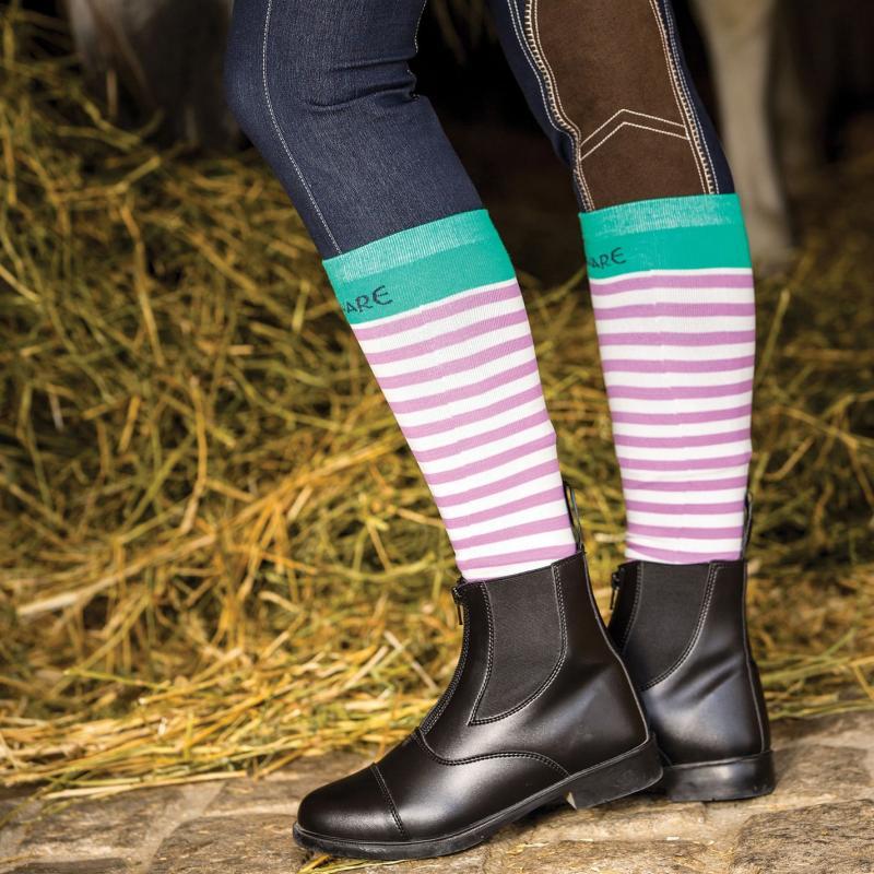 Horseware Leather Jodhpur Boots Ladies Black