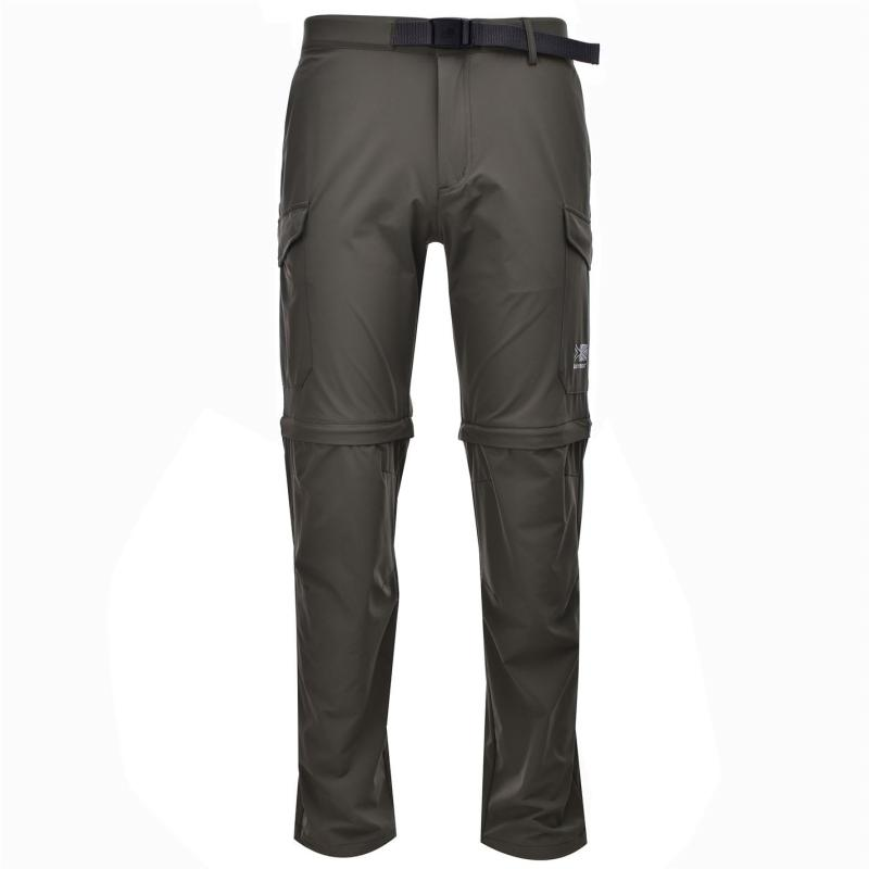 Karrimor Comfort Convertible Walking Pants Mens Khaki