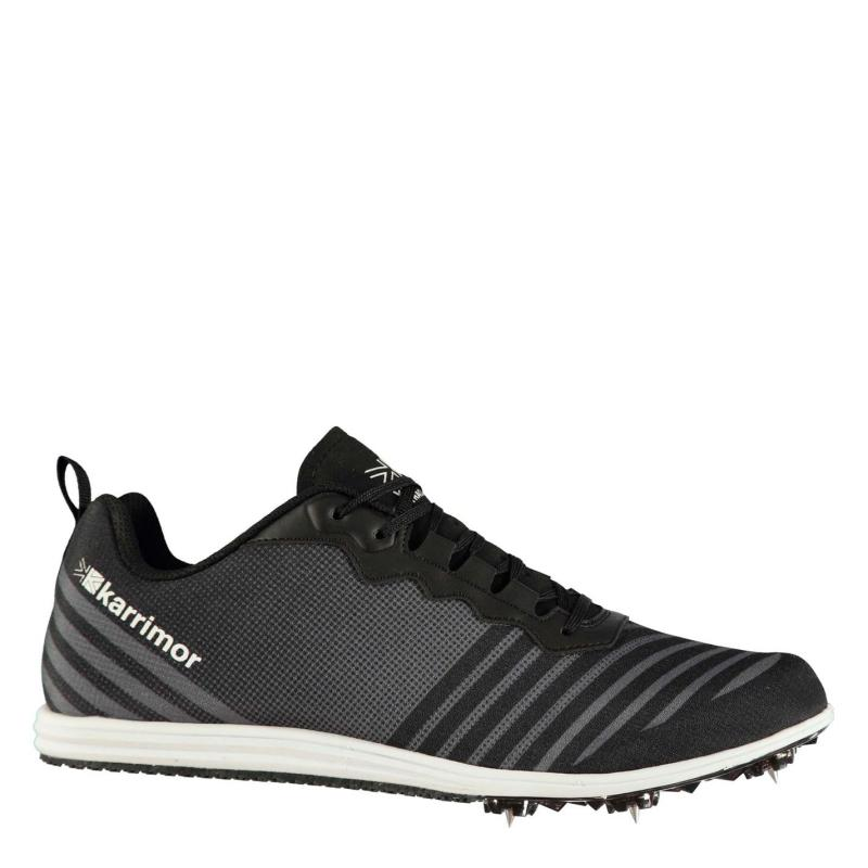 Karrimor Run Spike Trainers Mens Black/White