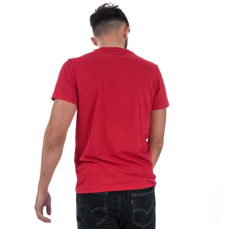 Tričko Diesel Mens T-Diego-FO T-Shirt Red