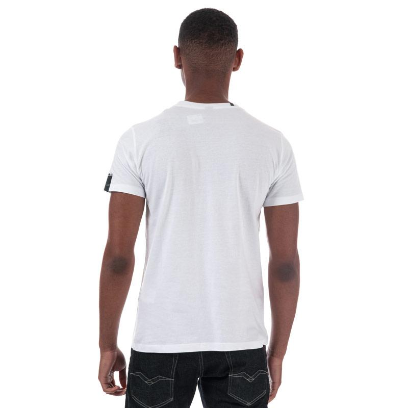 Tričko Replay Mens Tattoo PrintT-Shirt White