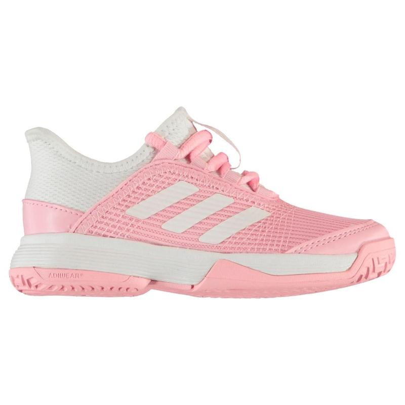 Adidas adizero Club Shoes Childrens True Pink/White