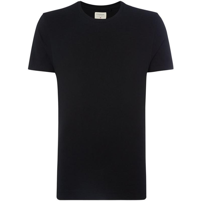 Tričko Criminal Cotton T Shirt