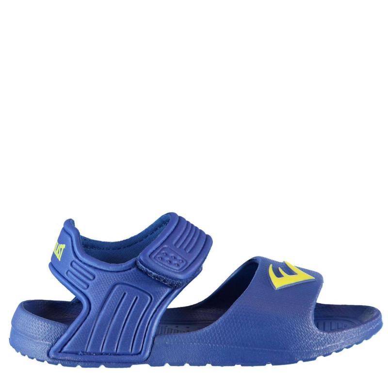 Boty Everlast Infants Pool Shoes Blue/Lime