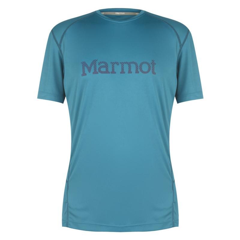 Tričko Marmot Wind Graphic T Shirt Mens Turkish Tile