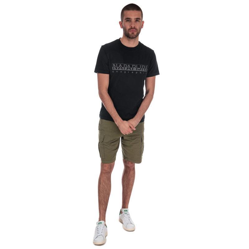 Tričko Napapijri Mens Sevora Short Sleeve T-Shirt Grey