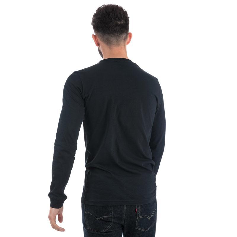 Tričko Diesel Mens T-Diego Long BR T-Shirt White Velikost - XXL