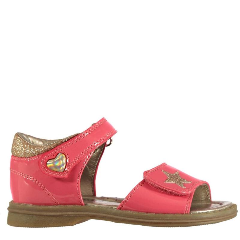 SoulCal Heart Infant Girls Sandals Pink