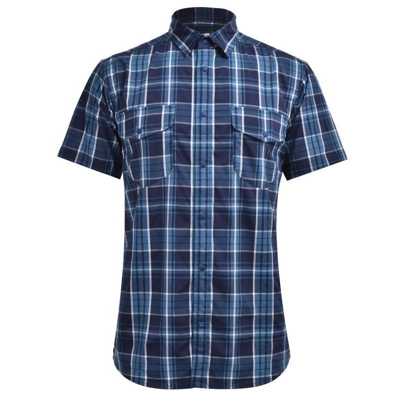 Karrimor Yacuma Original Check Shirt Mens Navy
