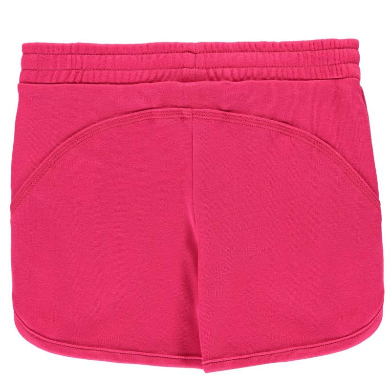 LA Gear Interlock Shorts Junior Girls Pink
