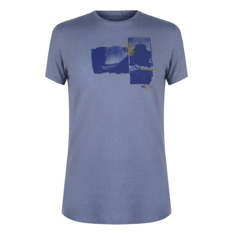 Tričko Millet Limited T Shirt Flint