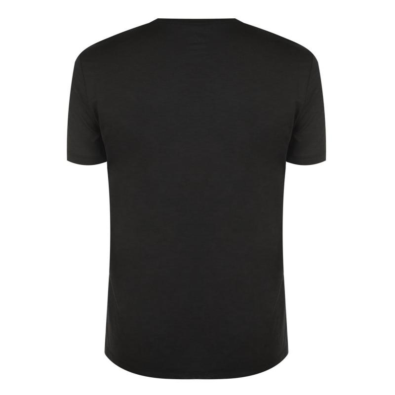 Millet Wool Blend T Shirt Black