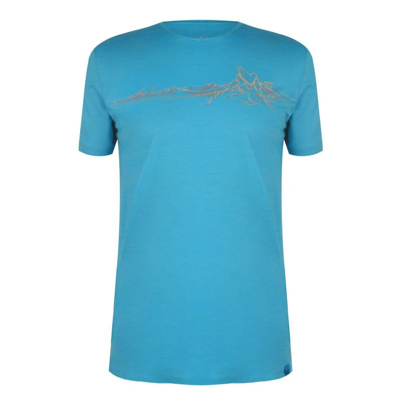 Tričko Millet Wool Blend T Shirt Electric Blue
