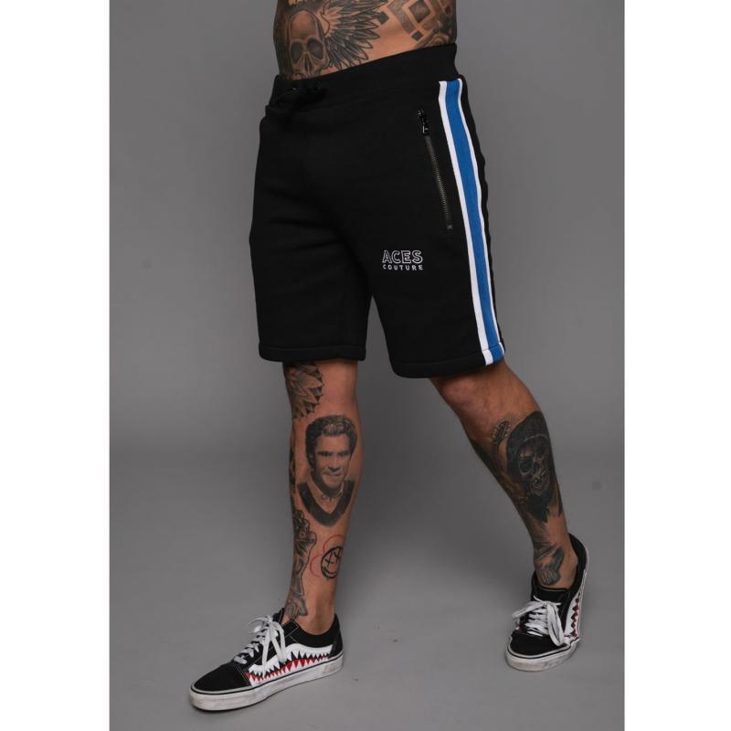 Aces Couture Revu Shorts Black