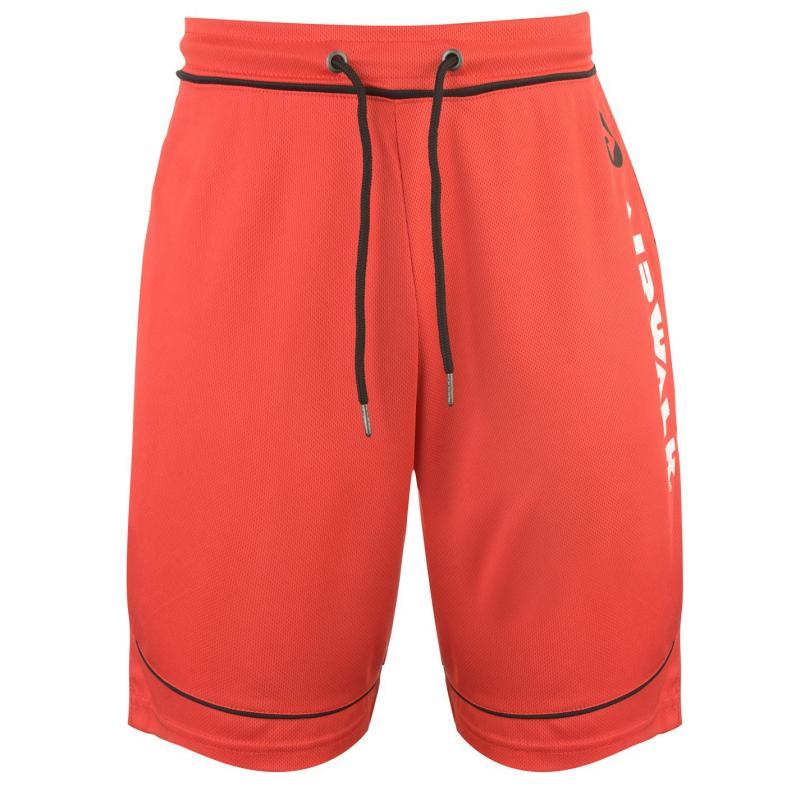 Airwalk Classic Basketball Shorts Mens Red