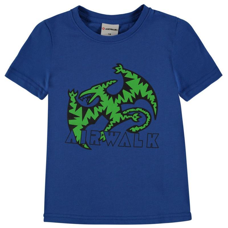 Tričko Airwalk Printed T Shirt Junior Dak