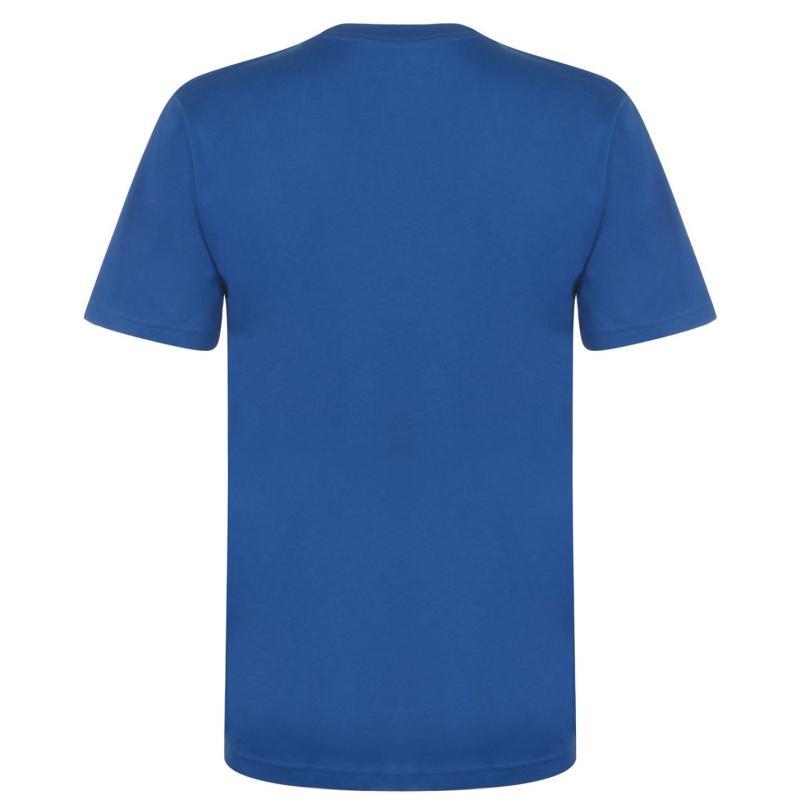 Tričko DC Program SS T Shirt Mens Blue
