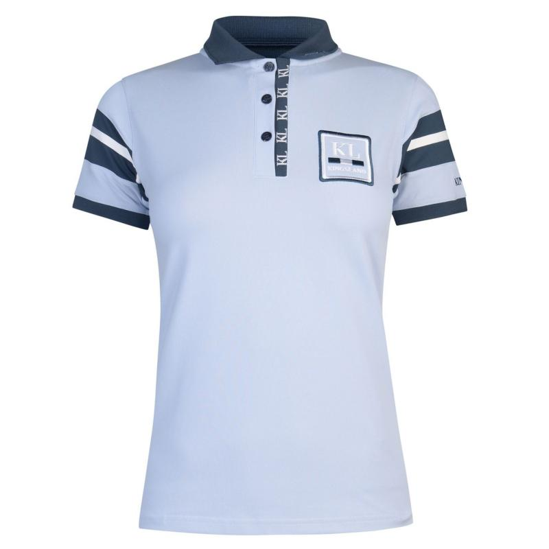 Polokošile Kingsland Polo Shirt Ladies Blue