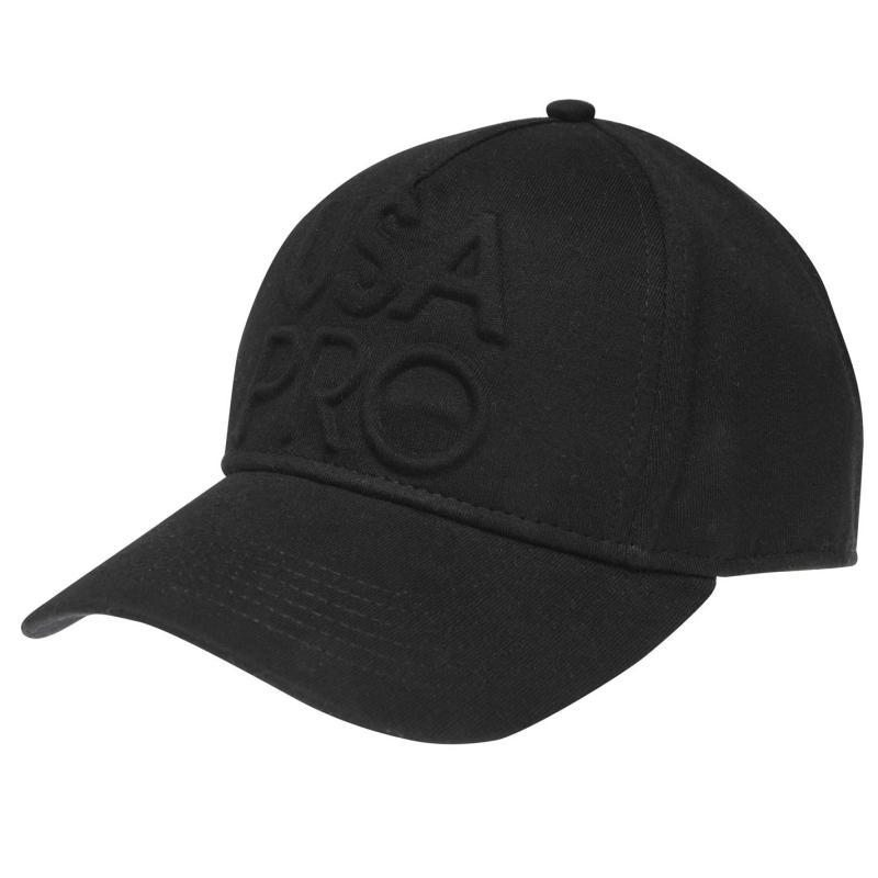 USA Pro Logo Cap Junior Girls Black
