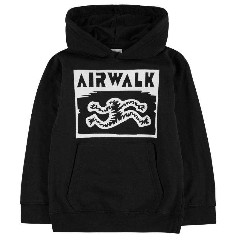 Mikina Airwalk Printed Hoodie Junior Running