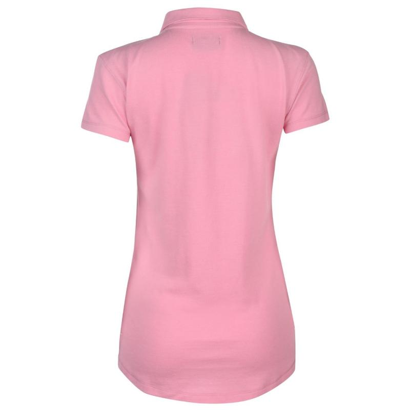 Polokošile Donnay Pique Polo Ladies Pink