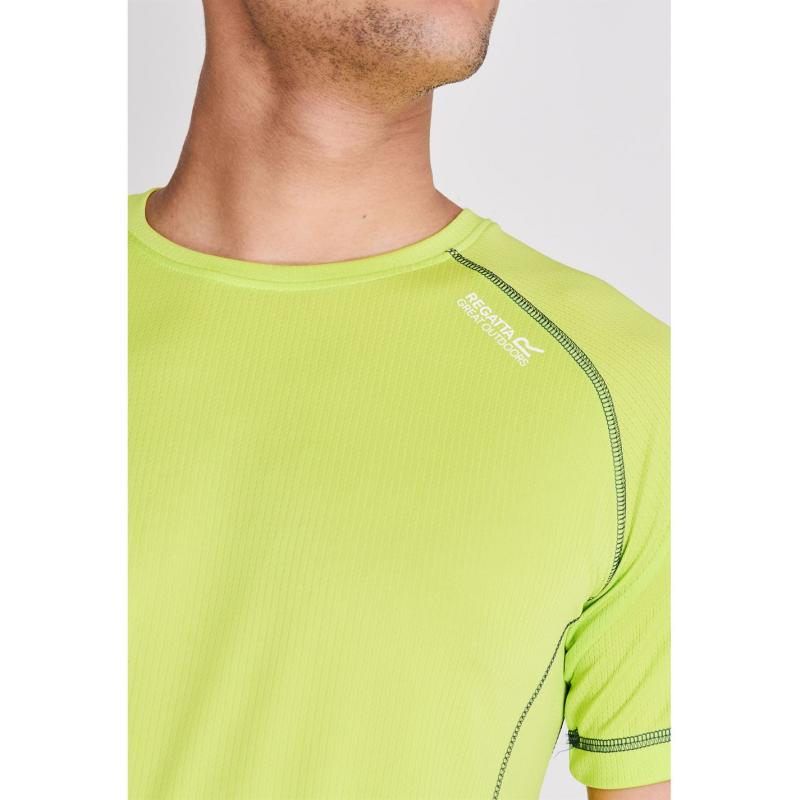 Tričko Regatta Virda II T Shirt Mens Classic Red