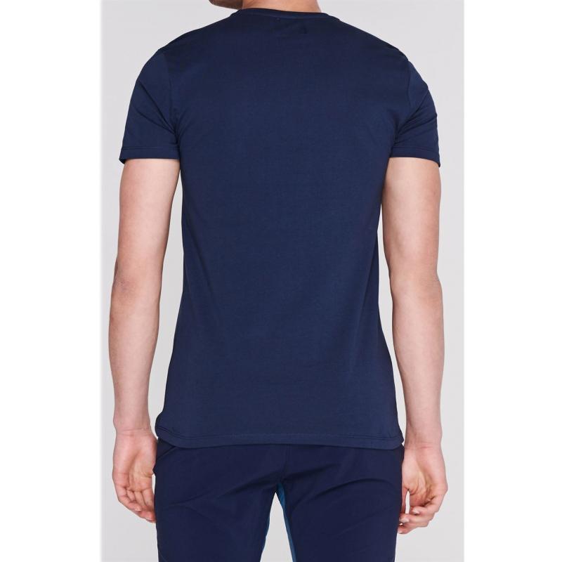 Tričko Criminal Criminal Mens Dystopia T Shirt Navy