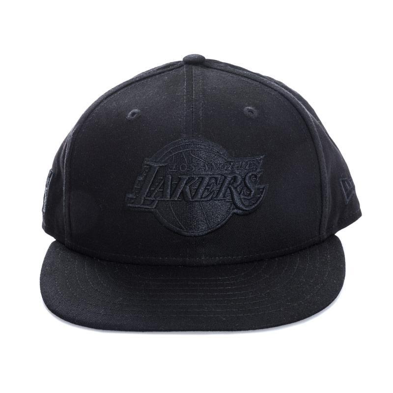 New Era Mens 9FIFTY L.A. Lakers B.O.B Cap Black