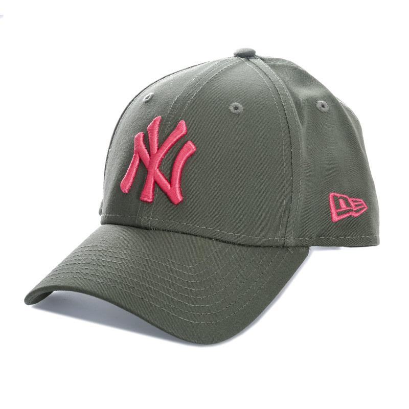 New Era Essential 9FORTY New York Yankees Cap Green