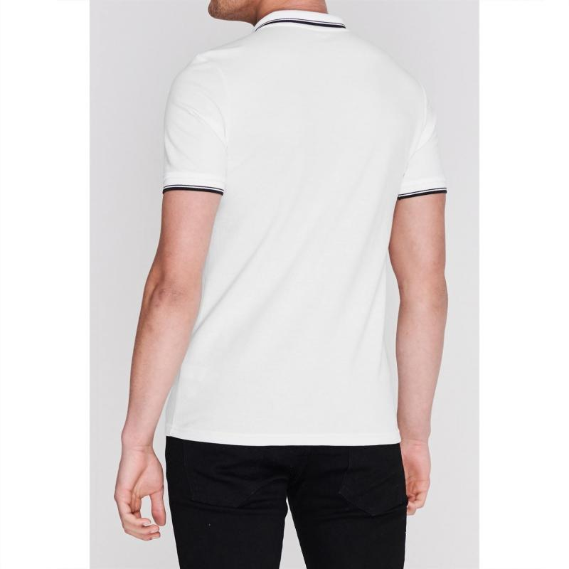 New Balance Liverpool Polo Shirt 2019 2020 Mens White