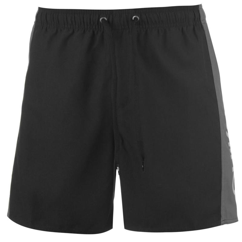 Plavky Quiksilver Mens Watermark Board Shorts Black