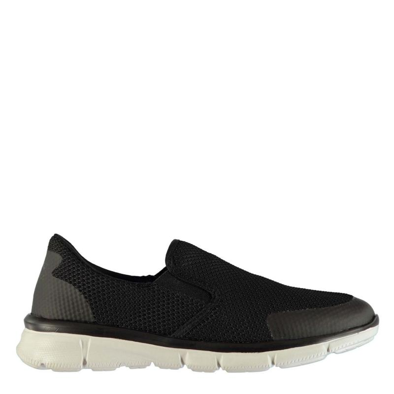 Slazenger Zeal Knit Mens Trainers Black